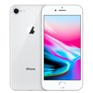 Apple iPhone 8 (UNLOCKED)-Silver-64GB-Grade B