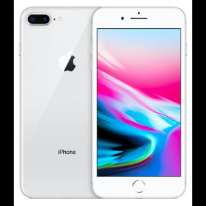 Apple iPhone 8 Plus (UNLOCKED)-Silver-64GB-Grade B